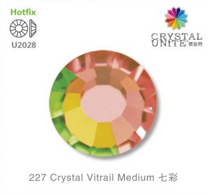 227 Crystal Vitrail Medium