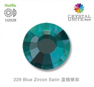 229 Blue Zircon Satin