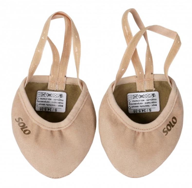 68659b2277 Solo gymnastics half-shoes (textile)